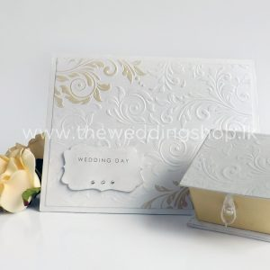 white-embossed-wedding-invitation
